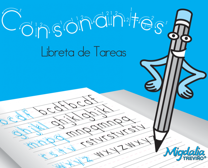 Consonantes, vocales y números