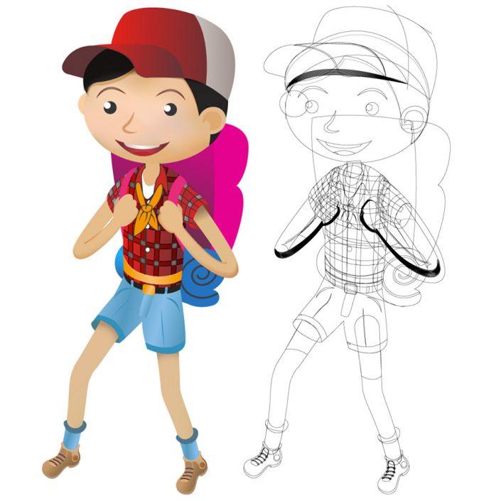 Ilustración 2D