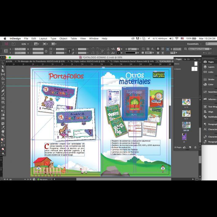 Diseño editorial y maquetación